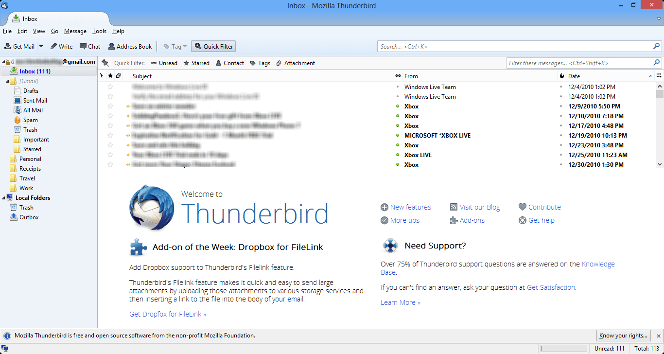 Stay in Sync with GCal and Thunderbird.